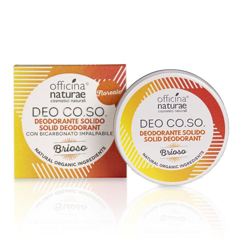Deo CO.SO. Brioso Cosmetici Solidi Officina Naturae - Millemamme