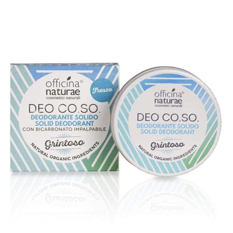 Deo CO.SO. Grintoso Cosmetici Solidi Officina Naturae - Millemamme