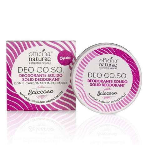 Deo CO.SO. Sciccoso Cosmetici Solidi Officina Naturae - Millemamme