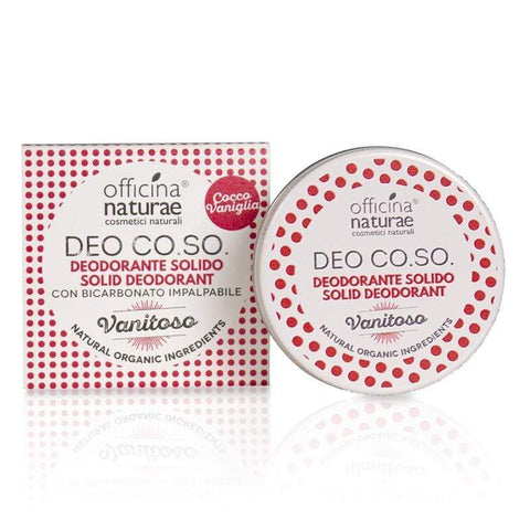 Deo CO.SO. Vanitoso Cosmetici Solidi Officina Naturae - Millemamme