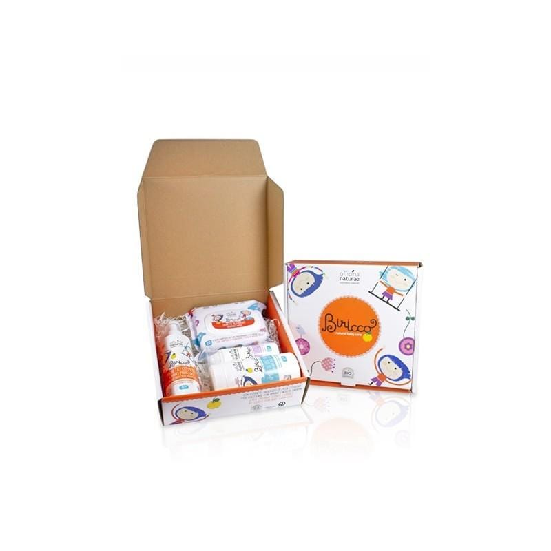 Gift Box Prime Coccole Biricco 0+ Officina Naturae - Shop Millemamme