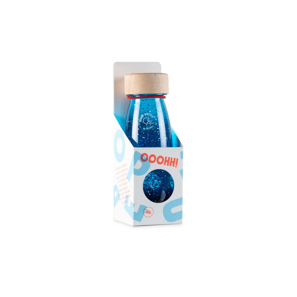 Bottiglia Sensoriale Float Bottle Blue Petit Boum