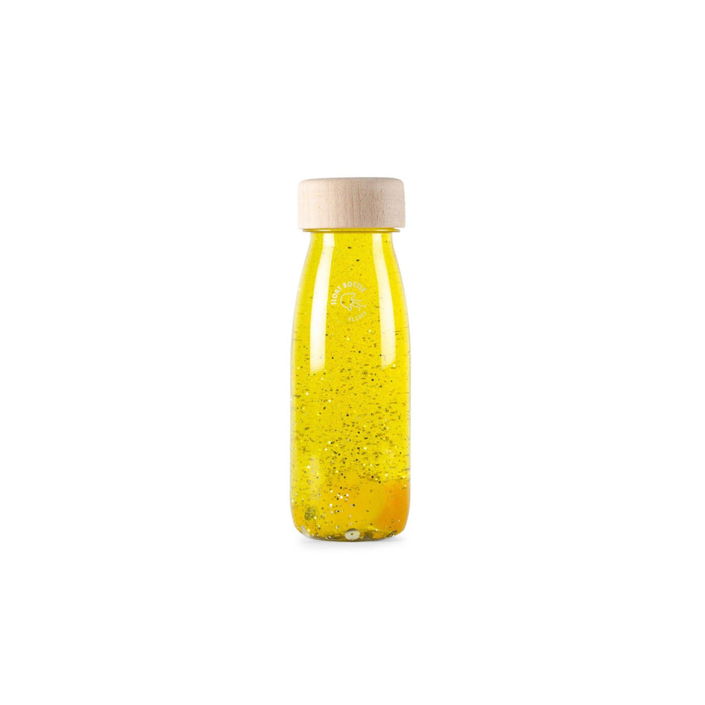 Bottiglia Sensoriale Float Bottle Yellow Petit Boum