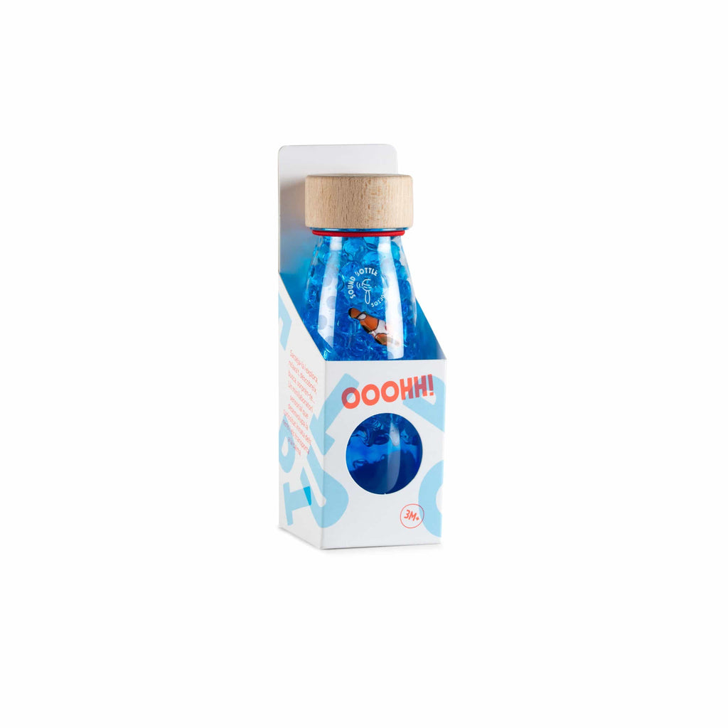Bottiglia Sensoriale Sound Bottle Fish Petit Boum