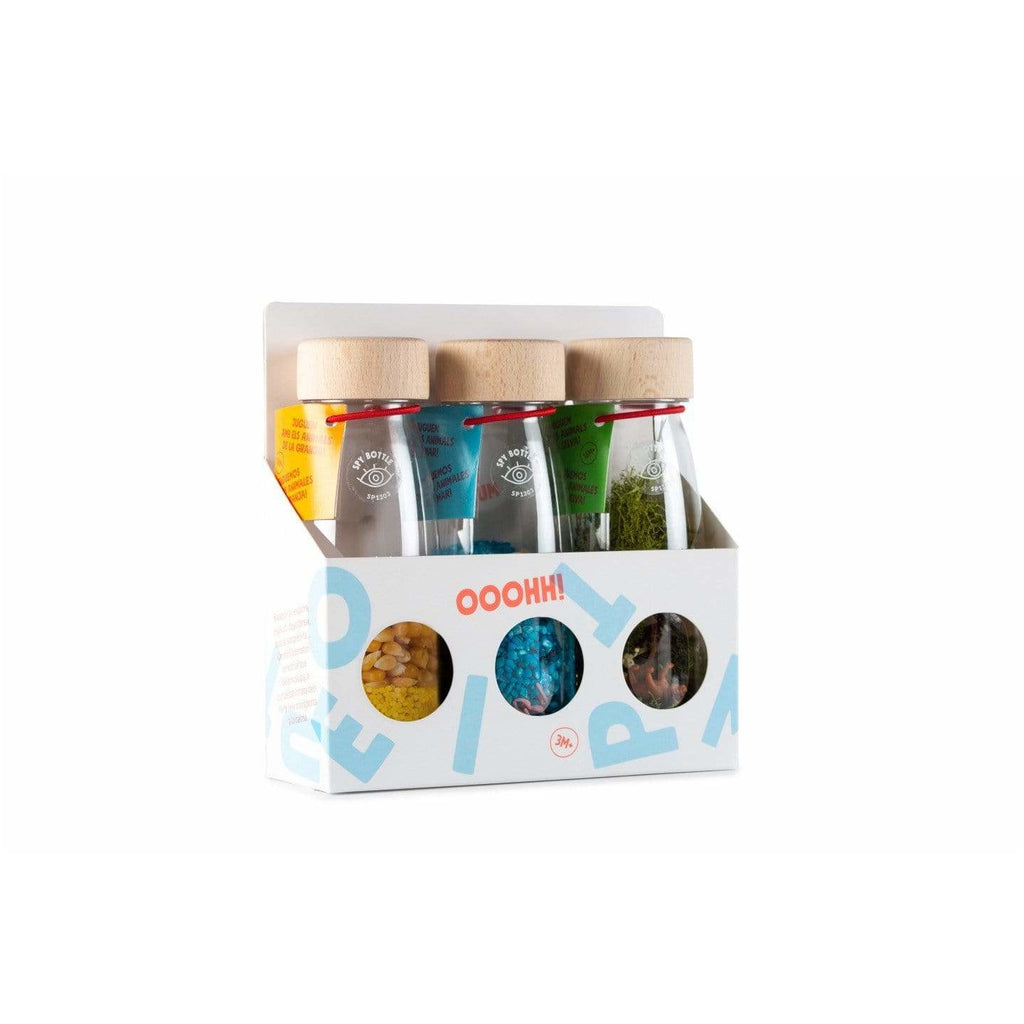 Set Bottiglia Sensoriale Nature Pack Petit Boum