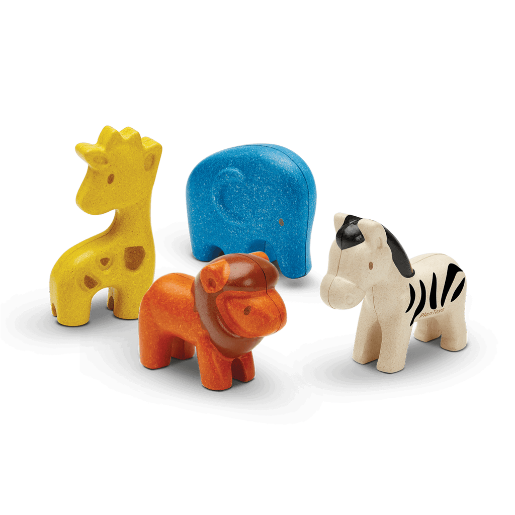 Set Animali selvaggi PlanToys