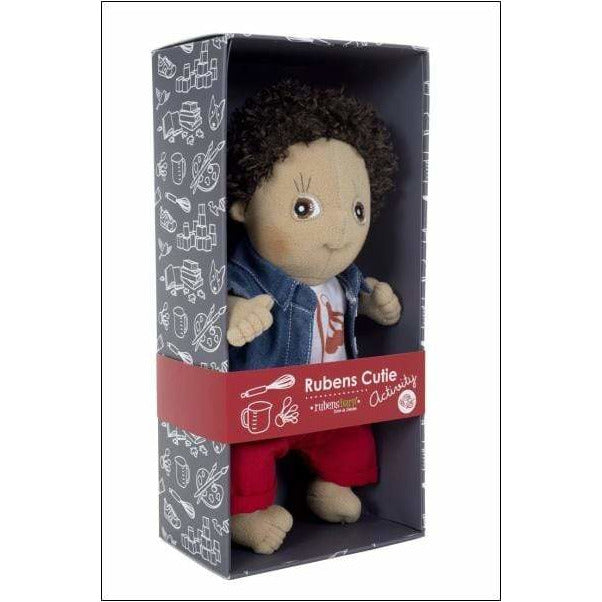 Bambola Empatica Rubens Barn Cutie Activity Charlie - Shop Millemamme