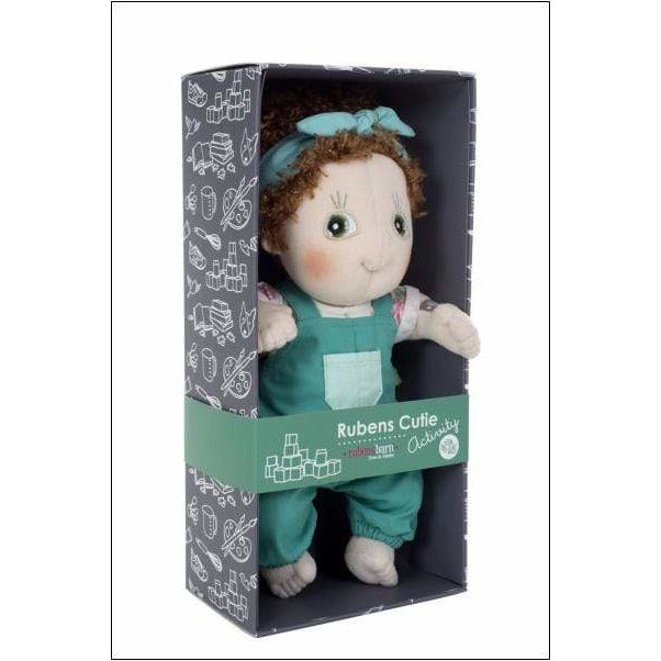 Bambola Empatica Rubens Barn Cutie Activity Karin - Shop Millemamme