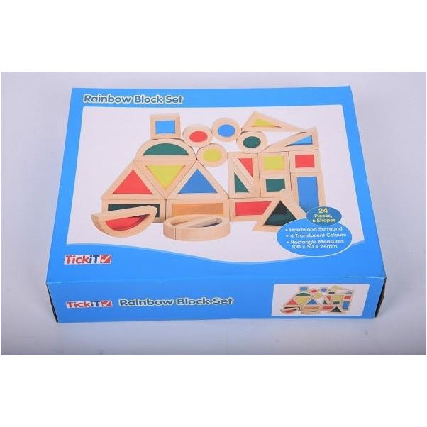 Set di blocchi colorati Tickit - Shop Millemamme