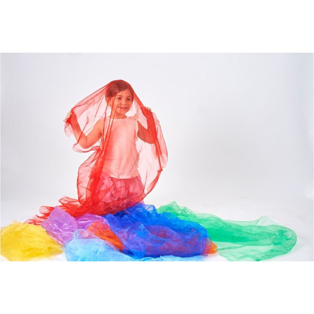 Tessuto colorato in organza Tickit - Shop Millemamme
