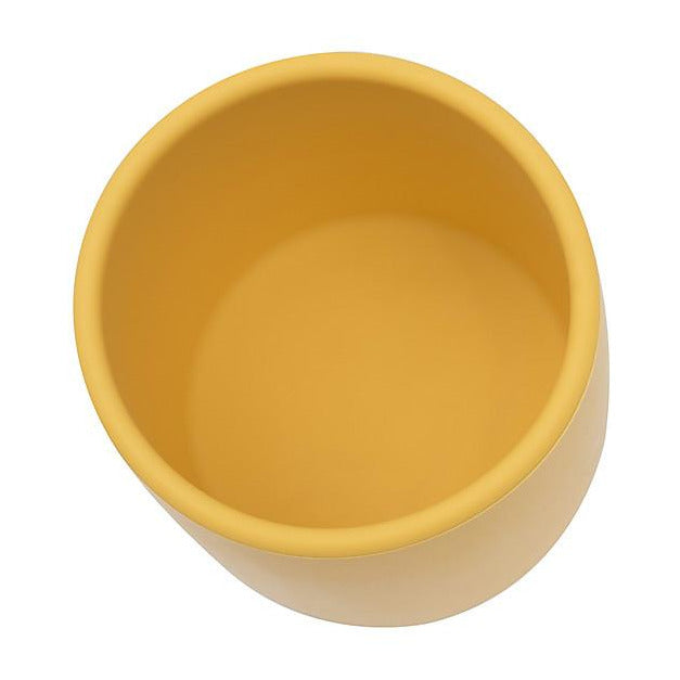 Tazza Ergonomica in Silicone 220 ml, Giallo - Senza BPA! We Might Be Tiny - Shop Millemamme