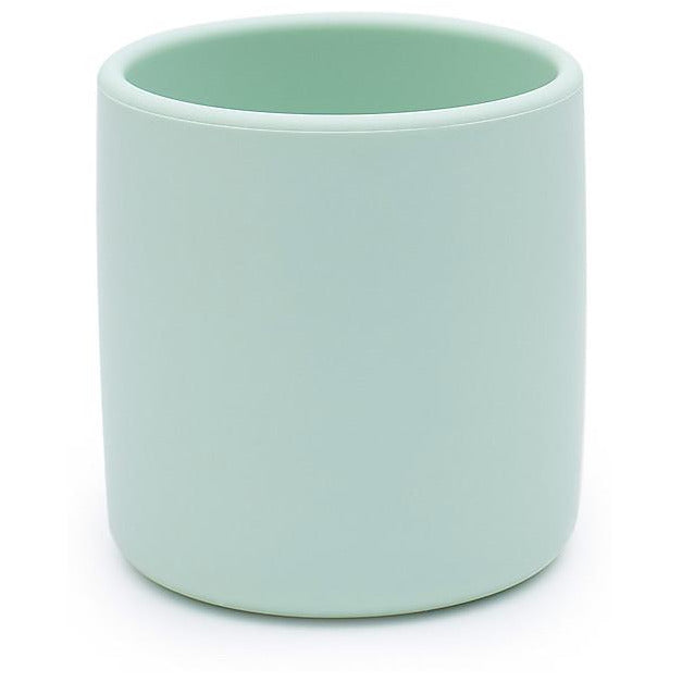 Tazza Ergonomica in Silicone 220 ml, Verde Menta - Senza BPA! We Might Be Tiny - Shop Millemamme