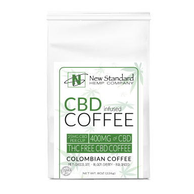 CBD INFUSED COFFEE / NEW STANDARD/ COLOMBAIN