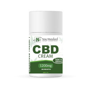 CBD PAIN CREAM / NEW STANDARD / 1200MG OF CBD