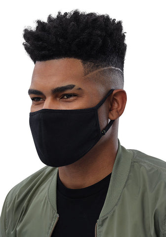 Black X Black Face Mask (3-Pack)
