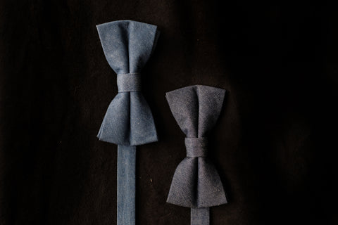 Eelis Bow-tie, Dark Denim