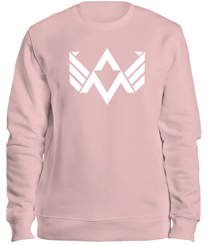 AXW Eagle Sweater, Cotton Pink