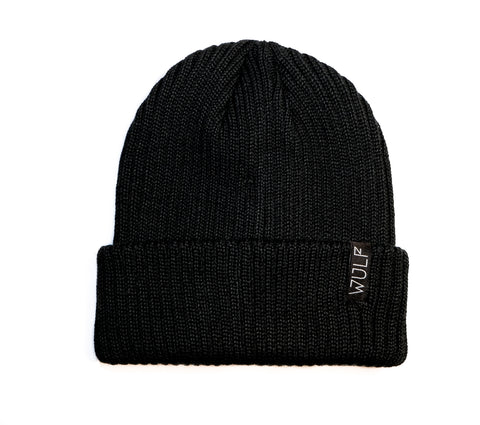 Meanie Beanie, Black Wool