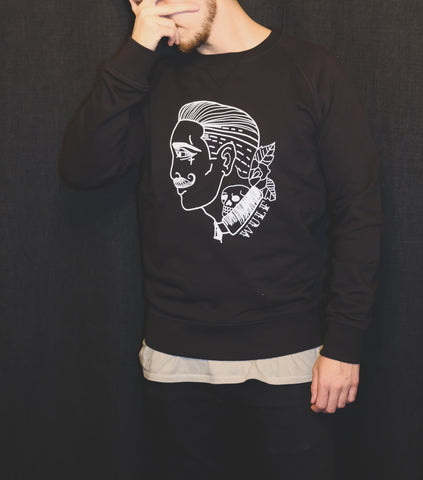 Faceless Sweater, Black
