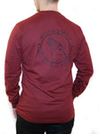 Northern Heritage Double Sided Long Sleeve, Burgundy