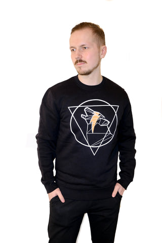 Iconic Wulf Sweater, Black
