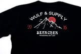 Searcher Doublesided Tee, Black