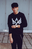 AXW Eagle Sweater, Black