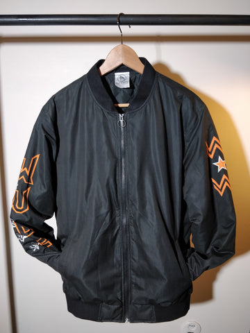 OUTLET FIND: Beast Triangle Bomber, Black M