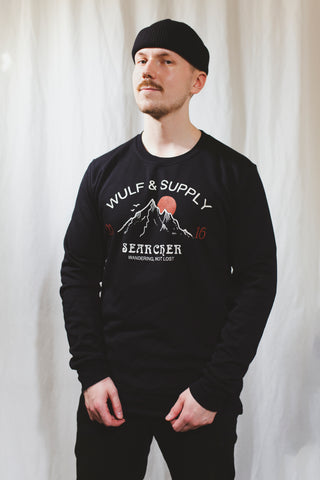 Searcher Sweater, Black