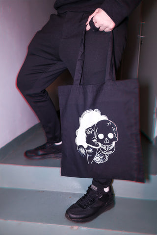 Beast Behind The Pretty Face Tote