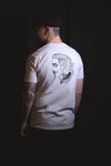 Faceless Double Sided Tee, White