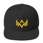 AXW Eagle Snapback Hat, Gold