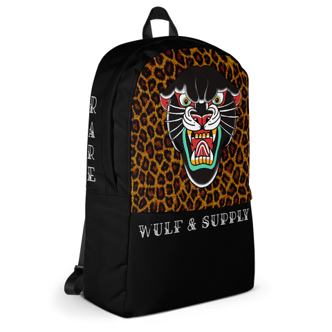 Black Leopard Rare Backpack