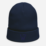 Organic W Puff Beanie, Join the Navy