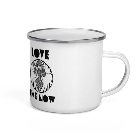NEW DAY - LOVE THE NOW enamel Mug