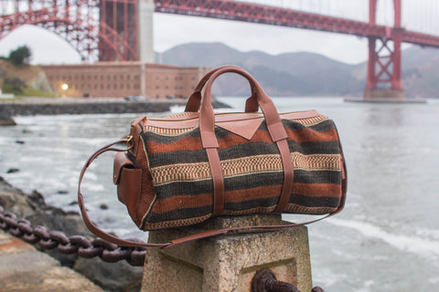 Buyu Collection Safari Travel duffel