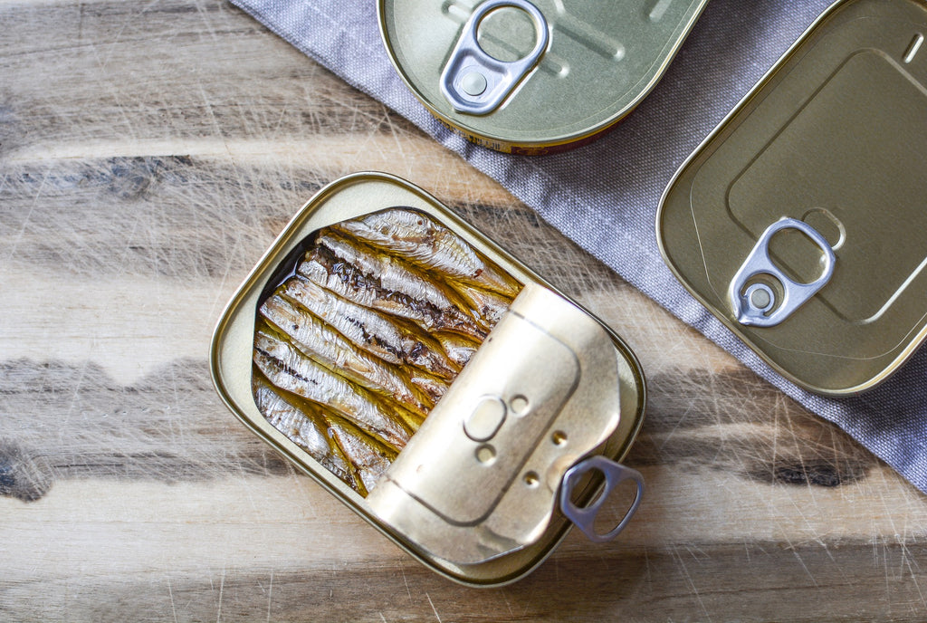 sardines in tin, are sardines good for skin?