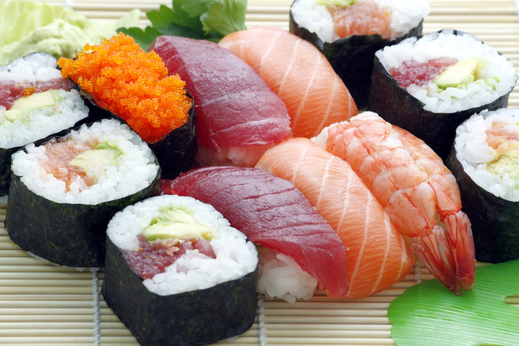 sustainable fish, sushi