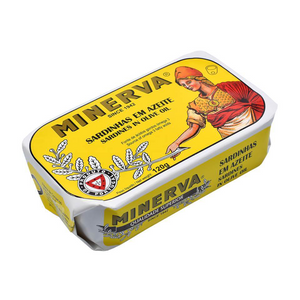 Minerva Sardines in Olive Oil - TinCanFish - sustainably sourced - gourmet products - healthy fats & proteins