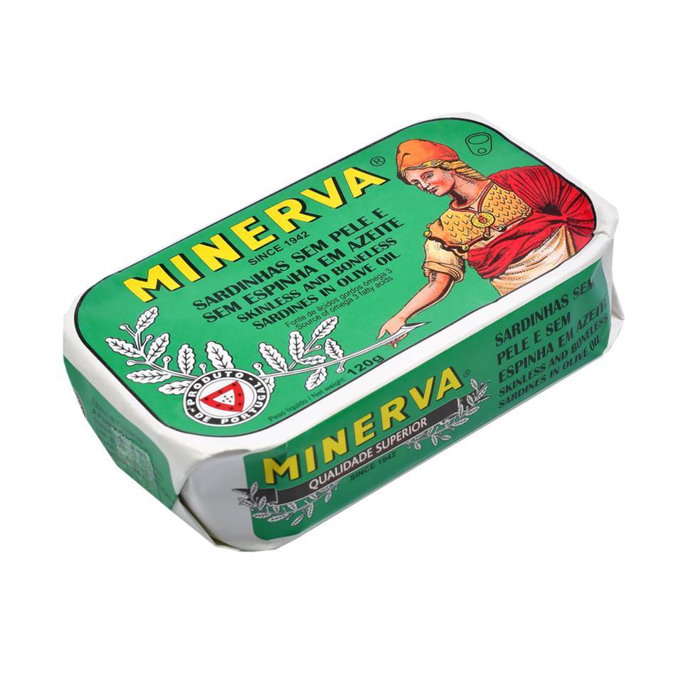 Minerva Skinless & Boneless Sardines in Olive Oil - TinCanFish - sustainably sourced - gourmet products - healthy fats & proteins