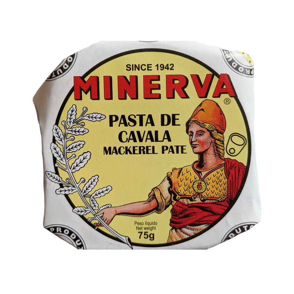 Minerva Mackerel Pate - TinCanFish - sustainably sourced - gourmet products - healthy fats & proteins