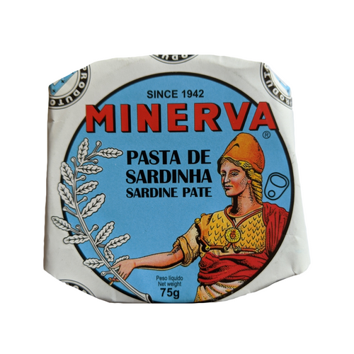 Minerva Sardine Pate - TinCanFish - sustainably sourced - gourmet products - healthy fats & proteins