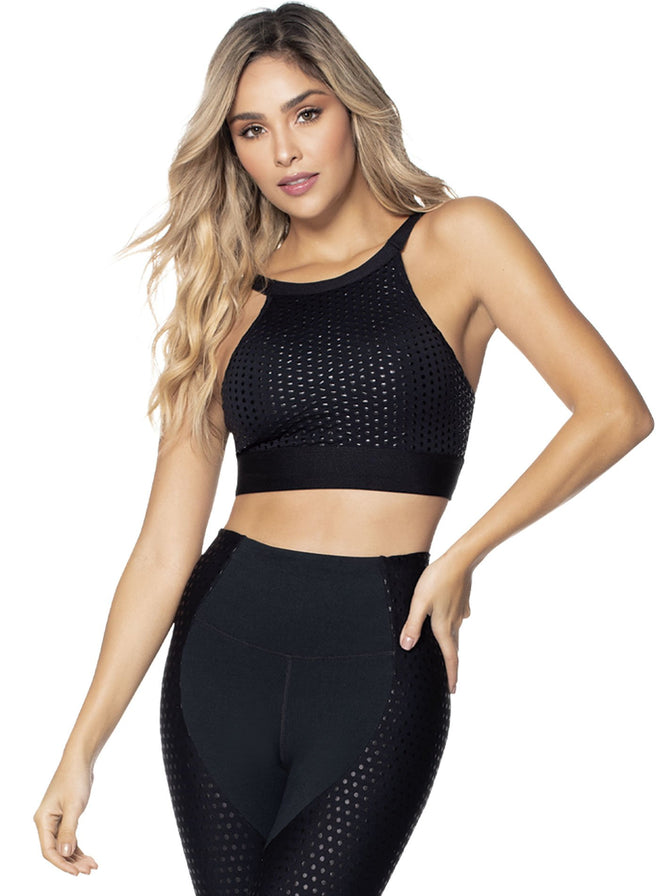 TOP TEJIDO SUPPLEX® TALLA S - M