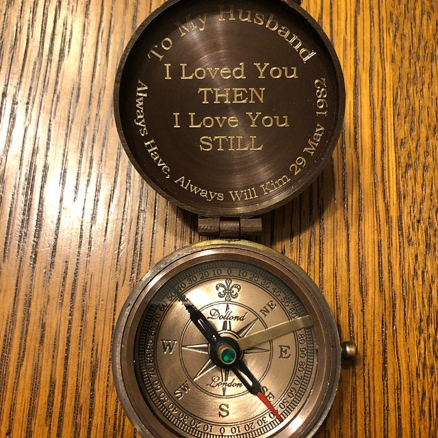 customized functional compass