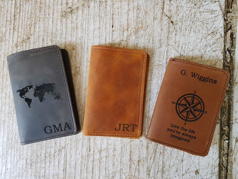 passport holder monogram