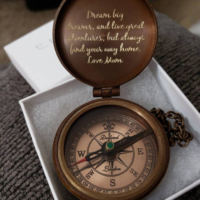 customized compass