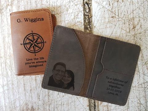 passport cover personalized