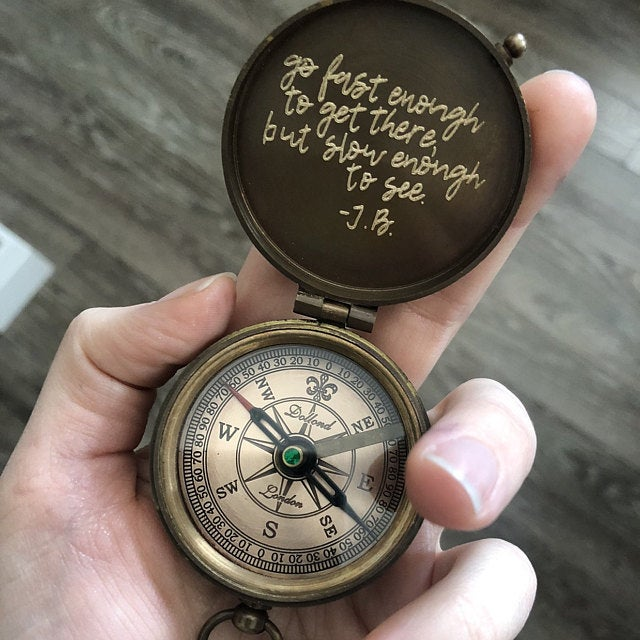 handwriting compass