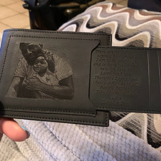 photo wallet for fathers day gift