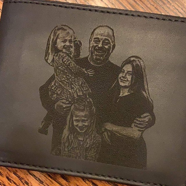 men's photo wallet